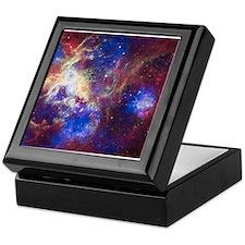 Space - Galaxy - Stars Keepsake Box