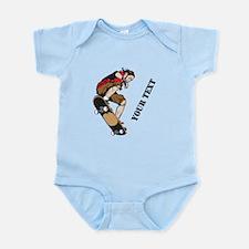 Personalized Skateboarder Infant Bodysuit