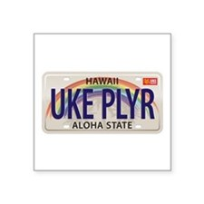 US Uke License Plate Sticker