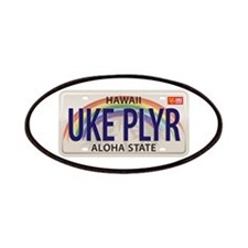 US Uke License Plate Patches