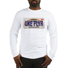 US Uke License Plate Long Sleeve T-Shirt