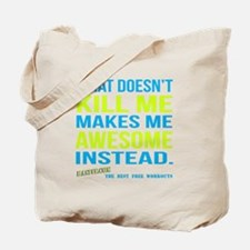 Mens What Doesnt Kill Me Workout Shirt White Tote