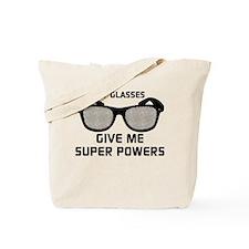 Glasses Super Powers Tote Bag
