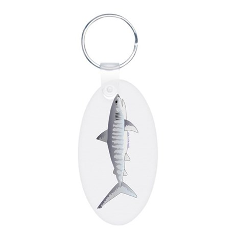 Tiger Shark f Keychains