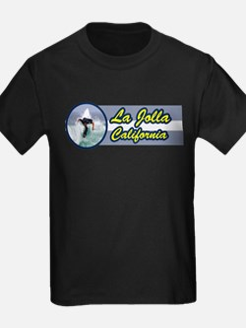 La Jolla, California Surfing T-Shirt
