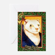 Ferret Christmas Card Greeting Cards (Pk of 20)