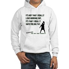Love Working Out T-shirt Hoodie