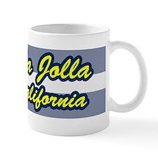 La Jolla, California Surfing Mug