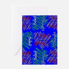 Belief-30s Greeting Cards