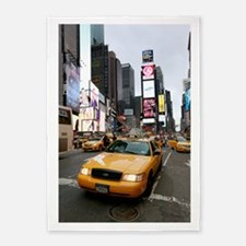 New York City Yellow Cab 5'x7'Area Rug
