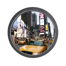New York City Yellow Cab Wall Clock