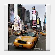 New York City Yellow Cab Tile Coaster