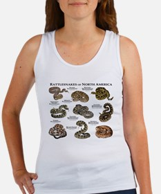 Rattlesnakes of North America Women's Tank Top