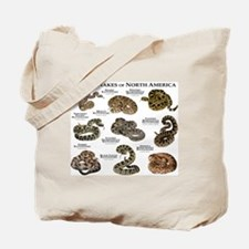Rattlesnakes of North America Tote Bag