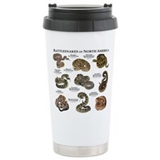 Rattlesnakes of North America Travel Mug