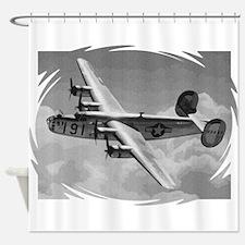B-24 Liberator Shower Curtain