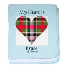 Heart - Bruce of Kinnaird baby blanket