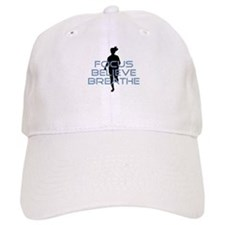 Blue Focus Believe Breathe Baseball Baseball Cap