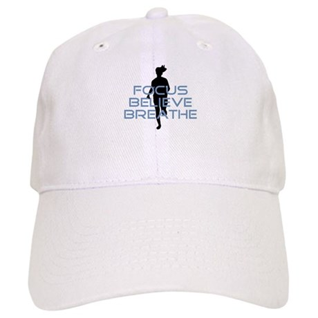 Blue Focus Believe Breathe Cap