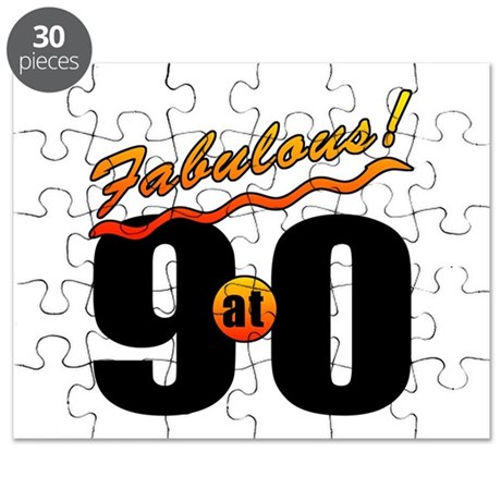 Fabulous At 90 Puzzle