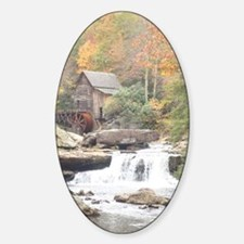 Glade Creek Grist Mill Decal