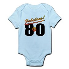 Fabulous At 80 Infant Bodysuit