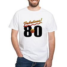 Fabulous At 80 Shirt