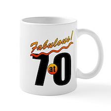 Fabulous At 70 Mug