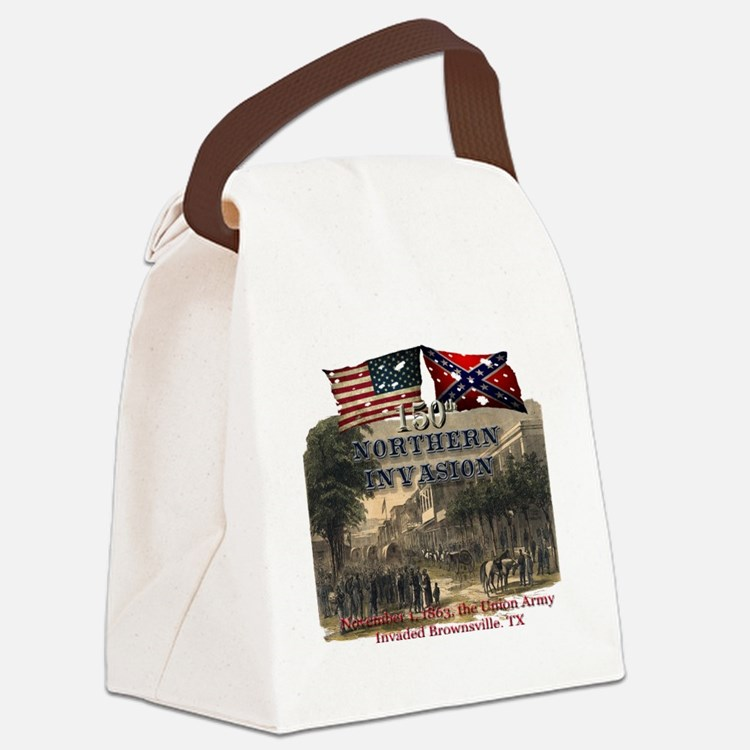 Northern Invasion Canvas Lunch Bag