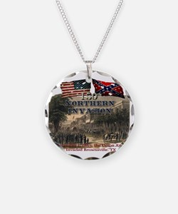 Northern Invasion Necklace Circle Charm
