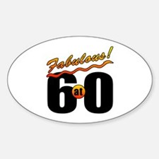Fabulous At 60 Decal