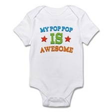 My PopPop Is awesome Infant Bodysuit