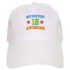 My PopPop Is awesome Baseball Cap