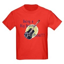 Being A Big Brother Rocks!!! T-Shirt
