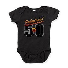 Fabulous At 50 Baby Bodysuit