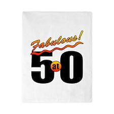 Fabulous At 50 Twin Duvet