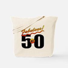 Fabulous At 50 Tote Bag