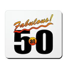 Fabulous At 50 Mousepad