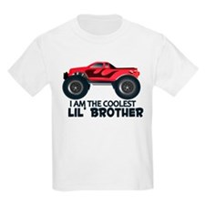 Coolest Lil' Brother Truck T-Shirt