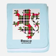 Lion - Bruce of Kinnaird baby blanket