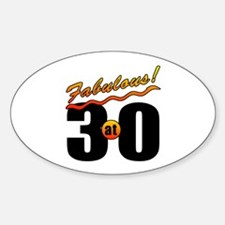 Fabulous At 30 Decal