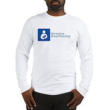 Cute Breastfeeding icon Long Sleeve T-Shirt