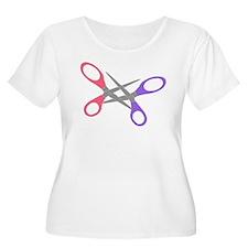 scissor-me Plus Size T-Shirt