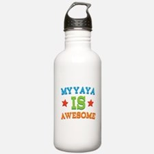 My Yaya Is awesome Water Bottle