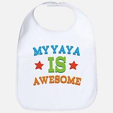 My Yaya Is awesome Bib