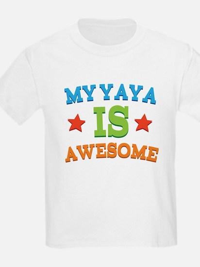 My Yaya Is awesome T-Shirt