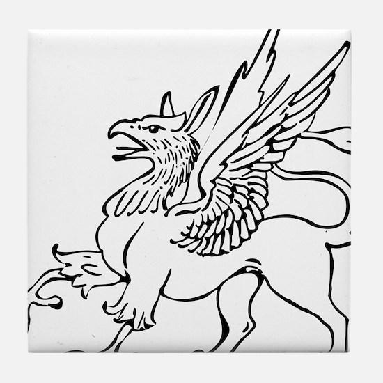 Griffin Tile Coaster