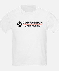 Compassion Over Killing Kids T-Shirt (white)