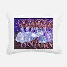 Nutcracker Snow Dance Rectangular Canvas Pillow