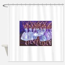 Nutcracker Snow Dance Shower Curtain